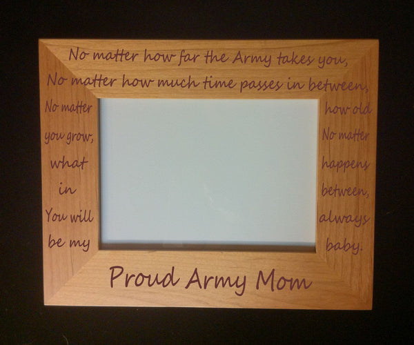Military Mom Photo Frame No Matter
