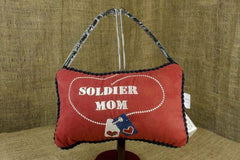 Soldier Mom Hanging Pillow