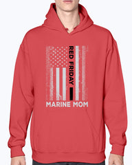 RED Friday Marine Mom Flag T-shirts