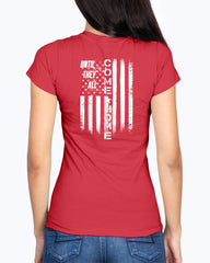 R.E.D. USA Until They All Come Home T-shirts