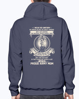 Proud Army Mom The Silent Ranks T-shirts