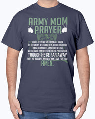 US Army Mom Prayer T-shirts