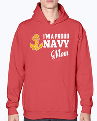 I'm A Proud Navy Mom Anchor T-shirts