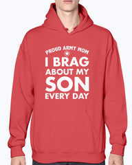 Proud Army Mom Brag Every Day T-shirts