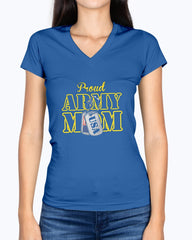 Army Mom USA Dog Tag T-shirts
