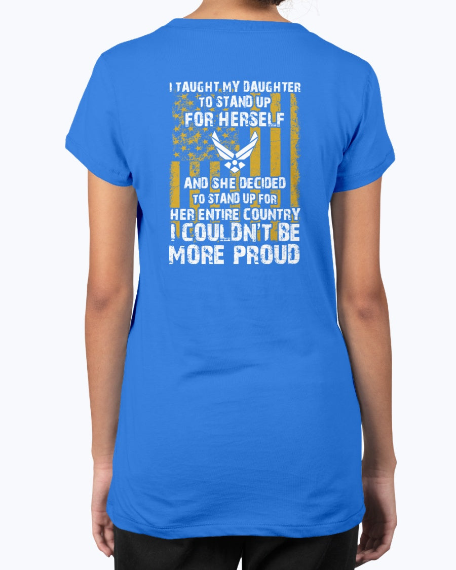 Proud Air Force Mom Daughter Couldn't More Proud T-shirts
