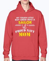 Navy Mom Tough Little Boy T-shirts