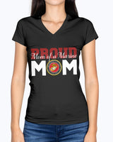 US Proud Mom of a Marine T-shirts