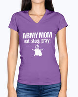 Proud Army Mom Eat Sleep Pray T-shirts