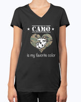 Proud Marine Mom Favorite Color T-shirts