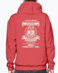 US Navy Mom The Silent Ranks T-shirts