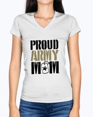 Grunge Proud Army Mom T-shirts