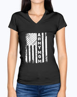 Vintage Army Mom Flag T-shirts