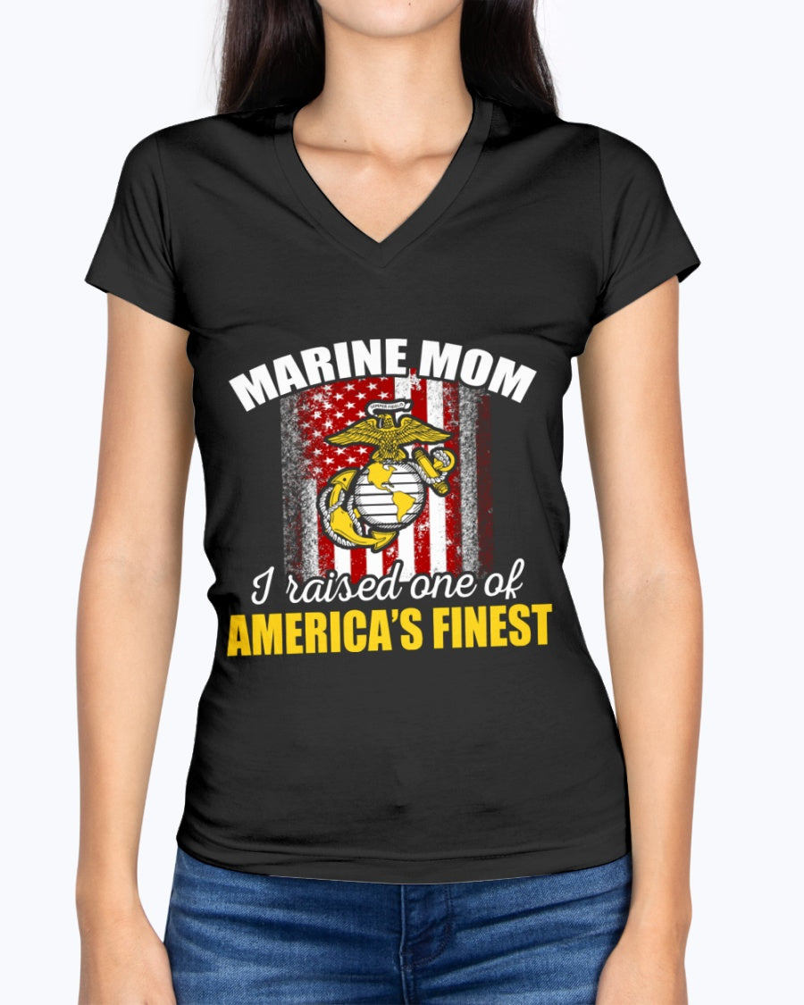 US Marine Mom America's Finest T-shirts