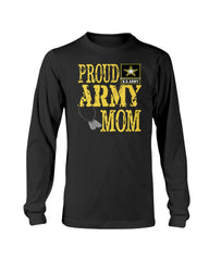 Military Proud Army Mom T-shirts