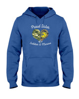 Military Sister of Soldier & Marine Hoodie