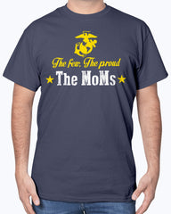 US Marine Mom The Few The MoMs T-shirts