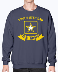 Proud Step Dad US Army T-shirts