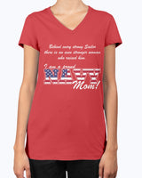 Proud Navy Mom Behind Stronger T-shirts