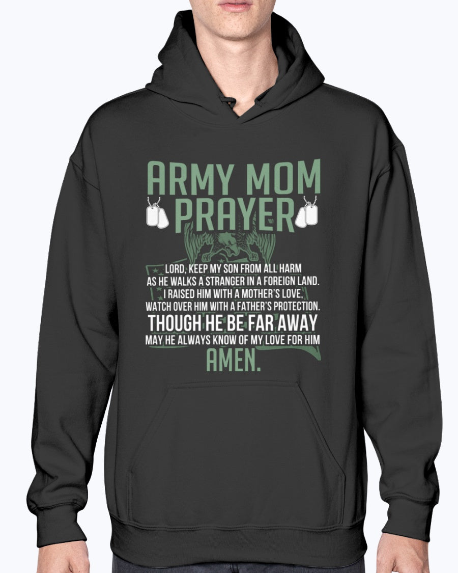 Proud Army Mom Prayer T-shirts