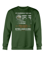 National Guard Grandson Grandma T-shirts