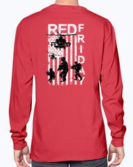 R.E.D. Friday USA Military T-shirts