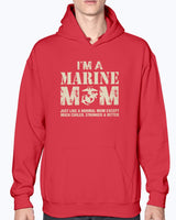 US Marine Mom Much Cooler T-shirts