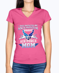 US Mom Air Force I Once T-shirts