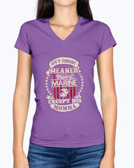 US Marine Mom Meaner T-shirts