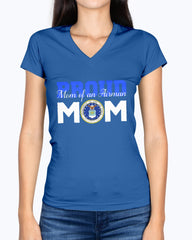 Proud Air Force Mom of Airman T-shirts