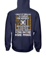 Coast Guard Mom Daughter More Proud T-shirts