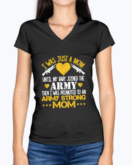 Promoted Army Mom Strong T-shirts
