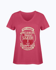 Navy Mom Meaner Daughter T-shirts