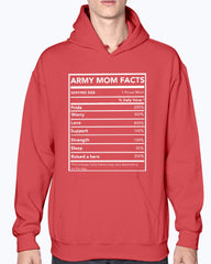 Proud Army Mom Facts T-shirts