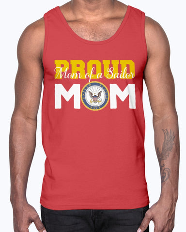 Proud Navy Mom of a Sailor T-shirts