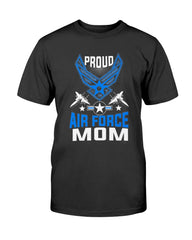Proud Air Force Mom Top T-shirts
