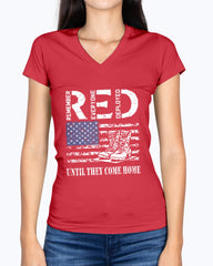 RED Friday Military Boots T-shirts