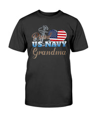 Proud US Navy Grandma T-shirts