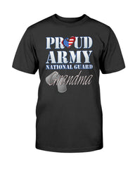 US Army National Guard Grandma T-shirts