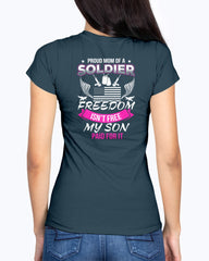 Proud Army Mom Freedom Not Free T-shirts