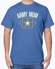 Proud Army Mom Simplify Logo T-shirts
