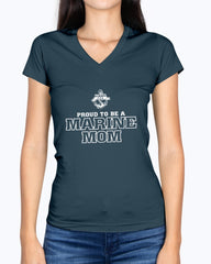 US Marine Mom Proud To Be T-shirts