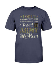 Army Mom I Once Protected Camo T-shirts