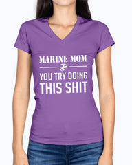 US Marine Mom This Shit T-shirts
