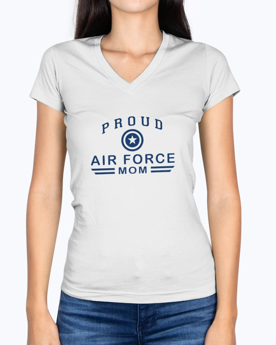 US Air Force Mom Light Colors T-shirts