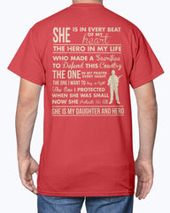 Army Mom Daughter & Hero T-shirts