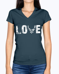 Proud Air Force Mom LOVE Only T-shirts