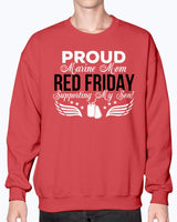 RED Friday Proud Marine Mom Support My Son T-shirts