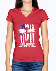 Proud Military Mom Stand & Kneel T-shirts