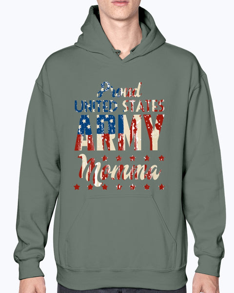 Proud United States Army Momma T-shirts